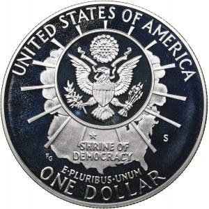 USA 1 dollar 1991