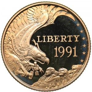 USA 5 dollars 1991