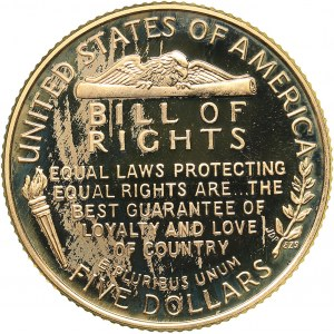 USA 5 dollars 1993