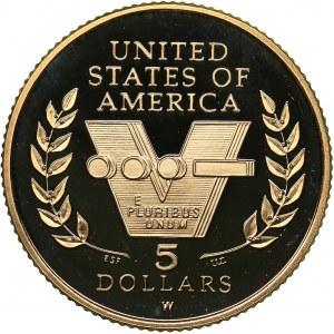USA 5 dollars 1995