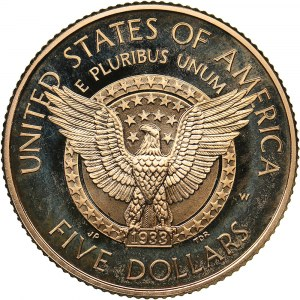 USA 5 dollars 1997