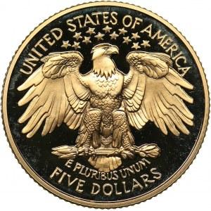 USA 5 dollars 1999