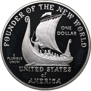USA 1 dollar 2000