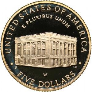 USA 5 dollars 2001