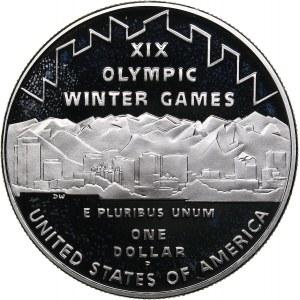 USA 1 dollar 2002 - Olympics Salt Lake 2002