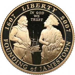 USA 5 dollars 2007