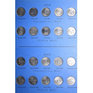 USA collection of coins (50)