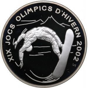 Andorra 10 dinar 2002 - Olympics Salt Lake 2002