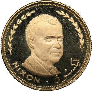 United Arab Emirates - Fujairah 25 Riyals AH 1389 (1970) - President Richard Nixon
