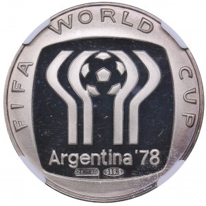 Argentina medal 1978 - FIFA WORLD CUP - NGC PF66 ULTRA CAMEO