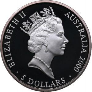 Australia 5 dollars 2000 - Olympics