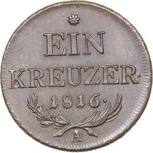 Austria 1 kreuzer 1816 A