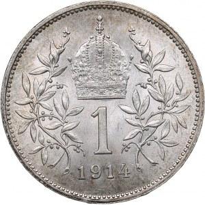 Austria Corona 1914