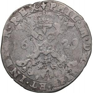Belgia - Bruges 1/4 patagon 1629