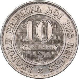 Belgium 10 centimes 1861