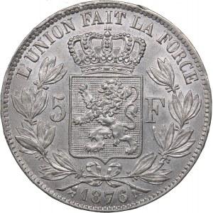 Belgium 5 francs 1876