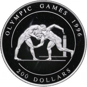 Cook Islands 200 dollars 1995 - Olympics