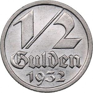 Danzig - Poland 1/2 gulden 1932