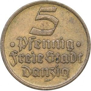 Danzig - Poland 5 pfennig 1932