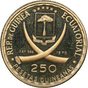 Guinea 250 pesetas 1970