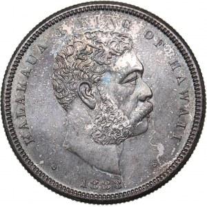 Hawaii 1/2 dollar 1883