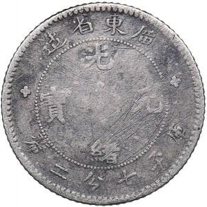 China - Kwangtung 10 cents 1891