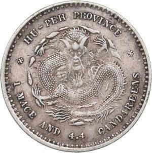 China - Hupeh  20 cents ND (1895-1907)