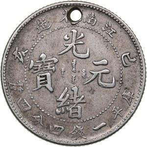 China - Kiangnan 20 cents 1899