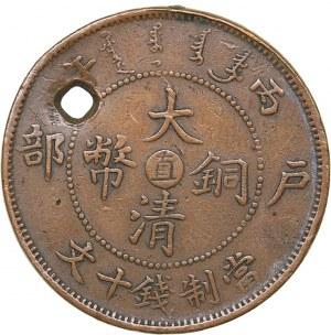 China Szechuan 10 cash 1906
