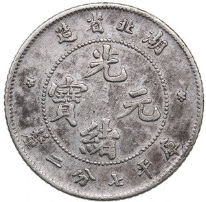 China - Hupeh 10 cents 1909