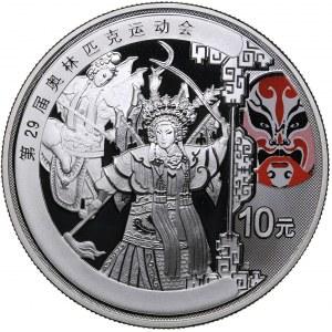 China 10 yuan 2008 - Olympics