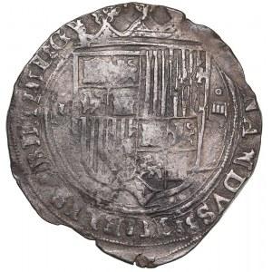 Spain 4 reales ND - Ferdinand & Isabella (1474-1504)