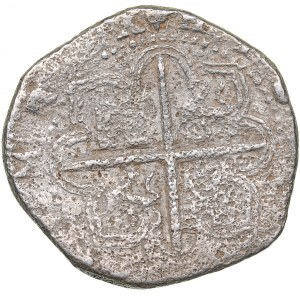 Spain - Sevilla 4 reales ND - Philipp II (1556-1598)