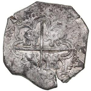 Spain 2 reales 15?? - Philipp II (1556-1598)