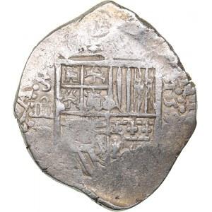 Spain - Sevilla 4 reales 159? - Philipp II (1556-1598)