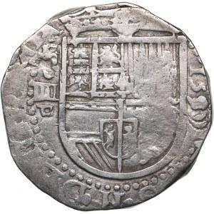 Spain - Sevilla 4 reales 1590 - Philipp II (1556-1598)