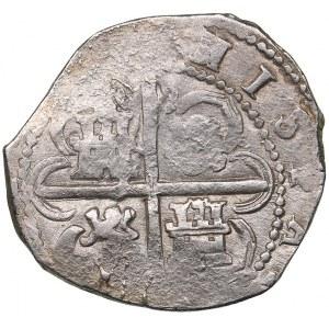 Spain 2 reales 1597 - Philipp II (1556-1598)