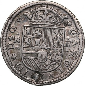 Spain 2 reales 1709