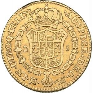 Spain - Madrid 2 escudos 1799