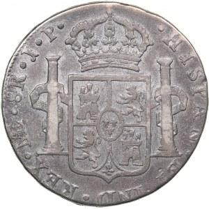 Spain 8 reales 1823