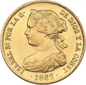 Spain 100 reales 1862