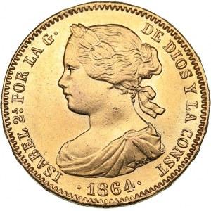 Spain 100 reales 1864