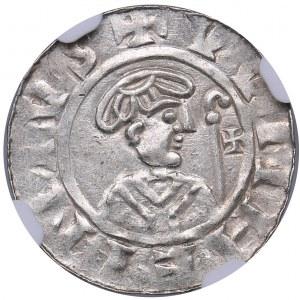 Netherlands - Groningen Denar - Willem van Pont (1054-1076) - NGC MS 61