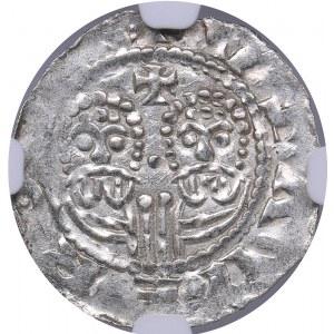 Netherlands - Friesland Denar - Egbert II (1068-1090) - NGC MS 61
