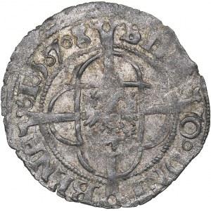 Netherlands - Groningen ⅙ Groningse stuiver 1578
