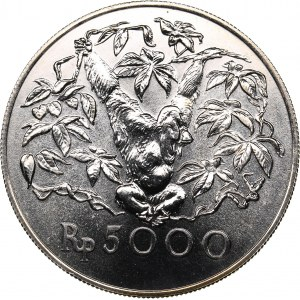 Indonesia 5000 rupiah 1974 - Conservation