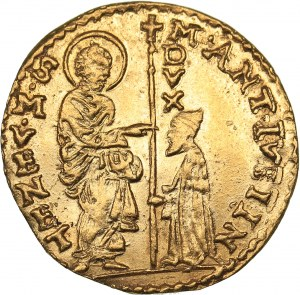Italy - Venice gold ducat - Marc Antonio Giustinian (1684-1688)
