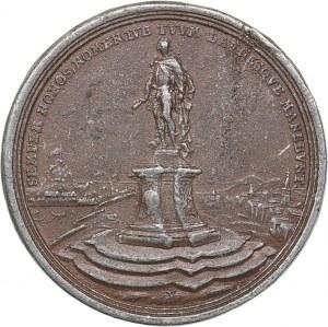 Italy medal Norimberga. Matthias Johann Schulenburg (1661-1747) - Opus Georg Wilhelm Vestner