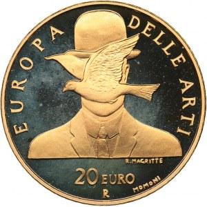 Italy 20 euro 2004 - Art in Europe - Belgium