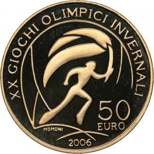 Italy 50 euro 2005 - Olympics